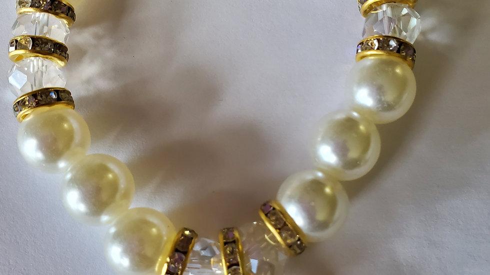 Sgrho Bling Pearl Bracelet