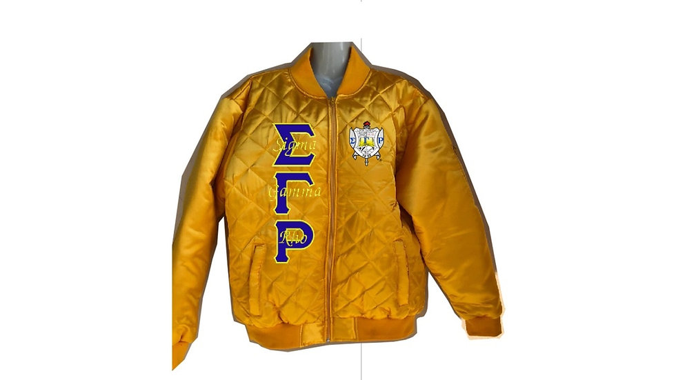 Sgrho Gold Jacket