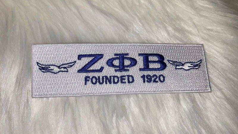 Zeta founded 1920 patch