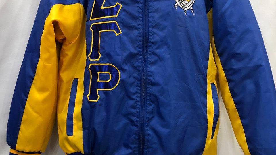 Sgrho New Blue/Gold Jacket