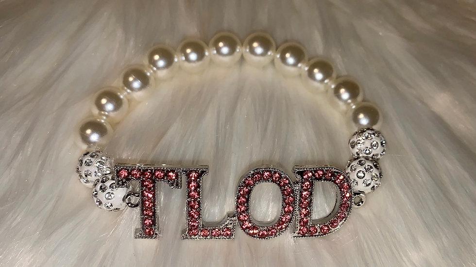 TLOD pearl bling bracelet