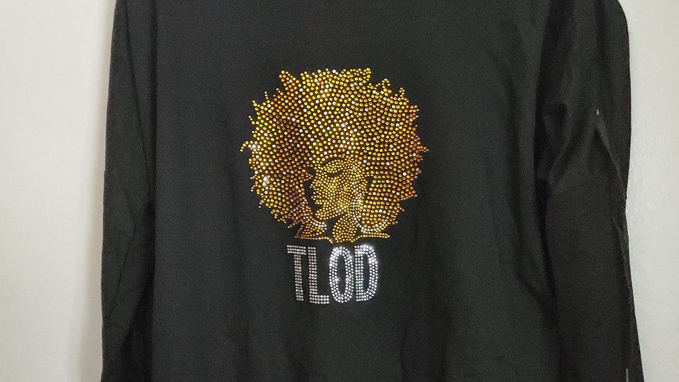 Tlod Black Bling Afro