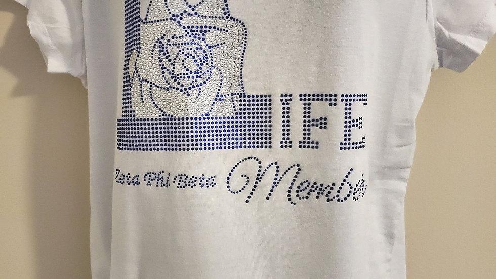 Zeta New Life Member Bling Shirt