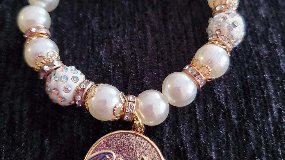 Rhoer Pearl Butterfly Bracelet