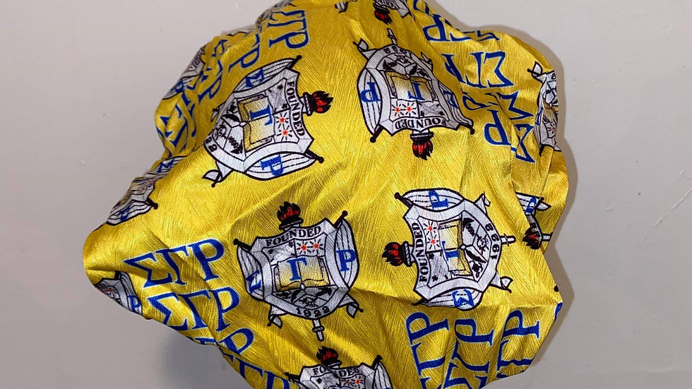 Sgrho Yellow Shield Bonnet