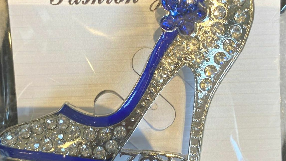 Zeta Bling Shoe Pin