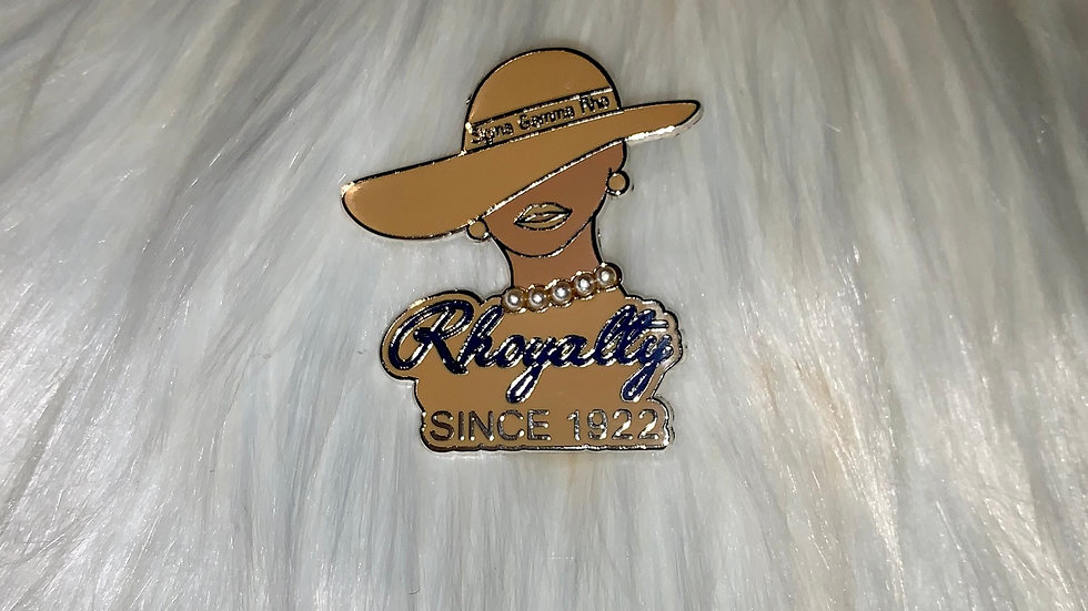 Sgrho rhoyalty lady pin