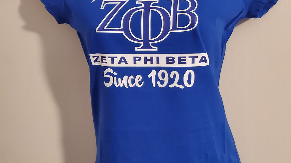 Zeta Since 1920 Shirt