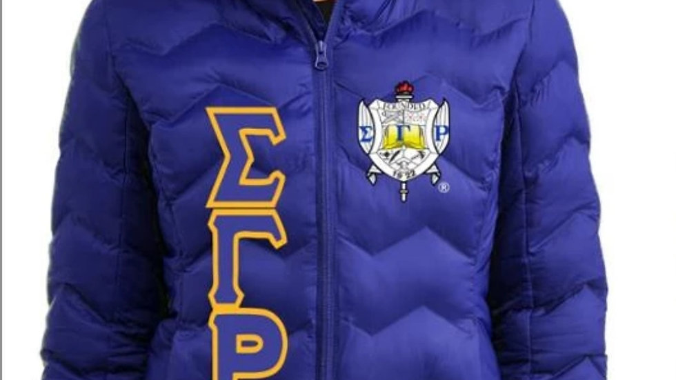 SGRHO BLUE BUBBLE JACKET