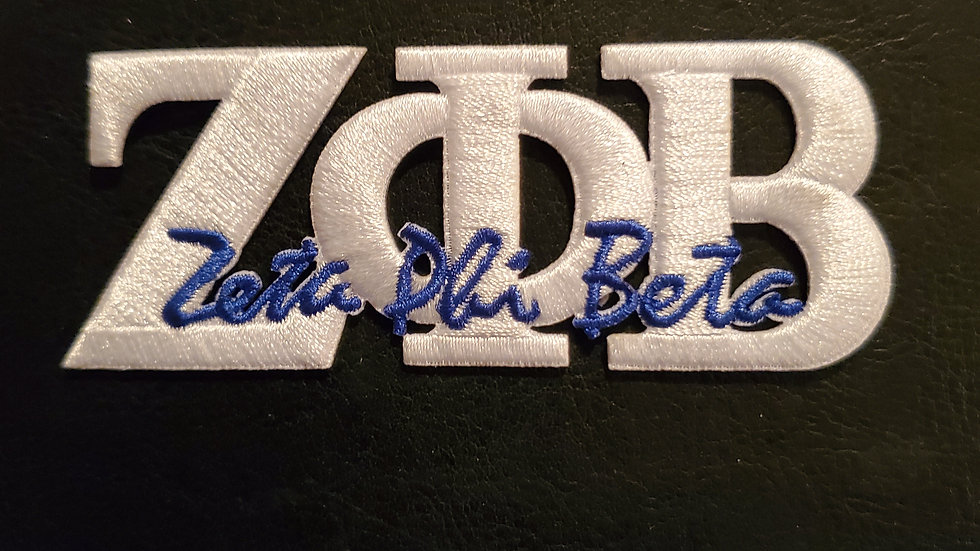 White Letter Patch