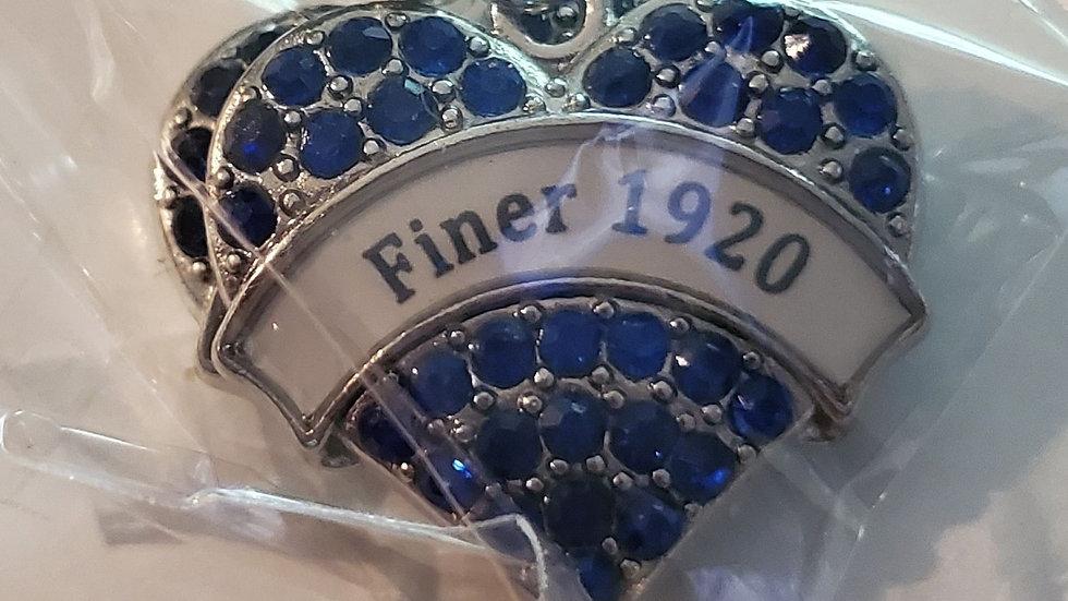 Zeta Finer 1920 Earring