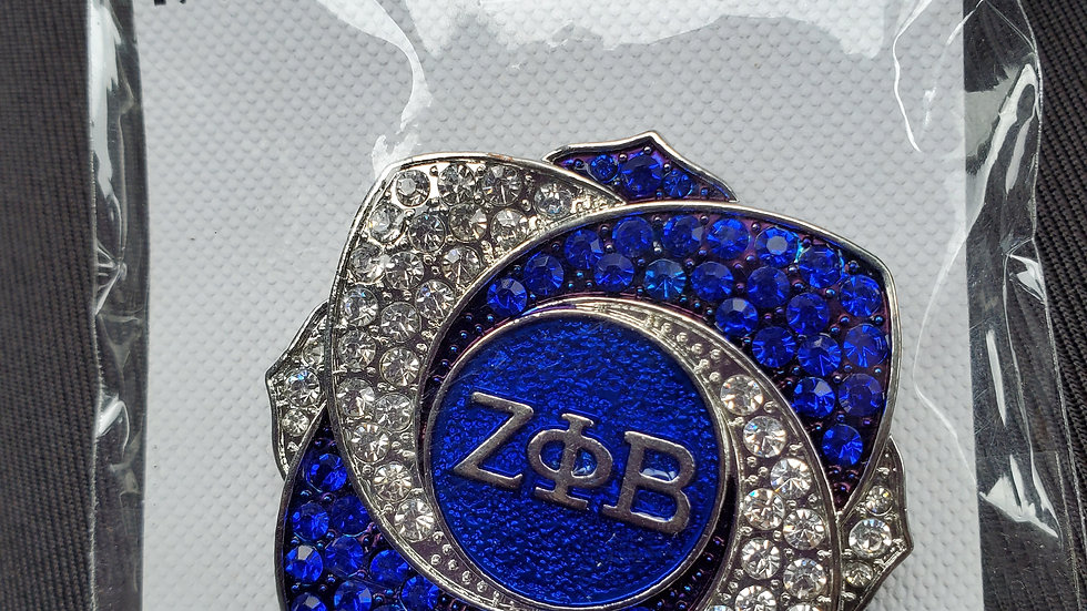 Beautiful Zeta Brooch