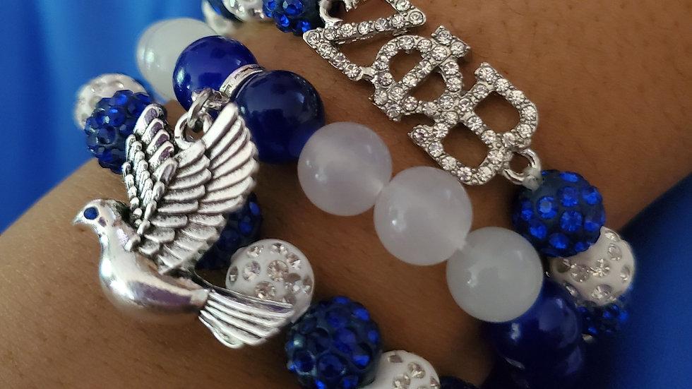 Zeta 3 Strand Bracelet set