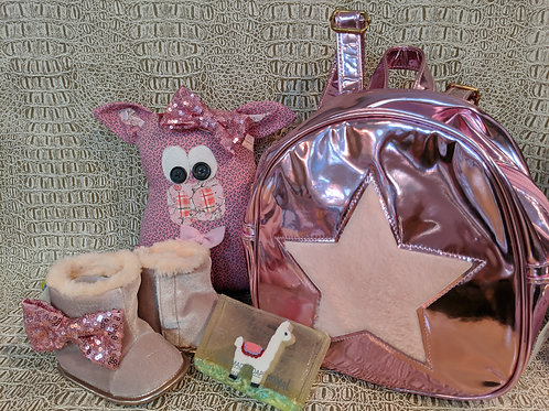 """Piggy in Pink"" set"