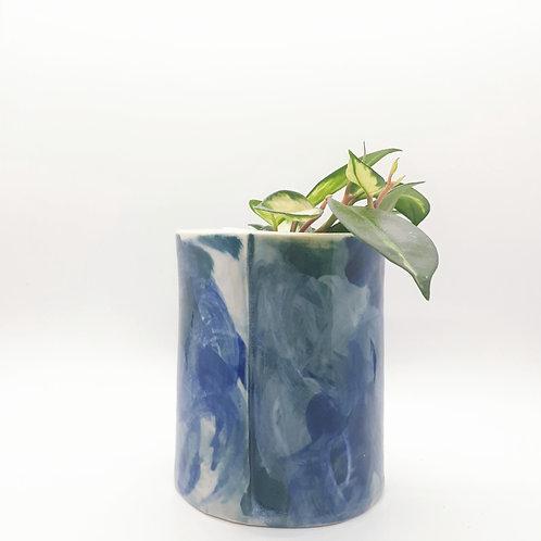 watercolour vase