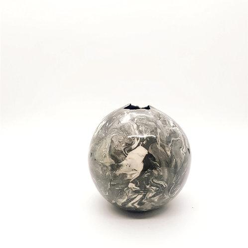 Black & White Swirl Vase