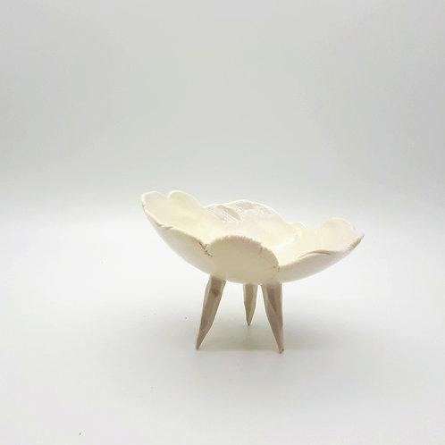 White Stilt Dish
