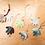 Thumbnail: Hand Ornaments (24 pieces)