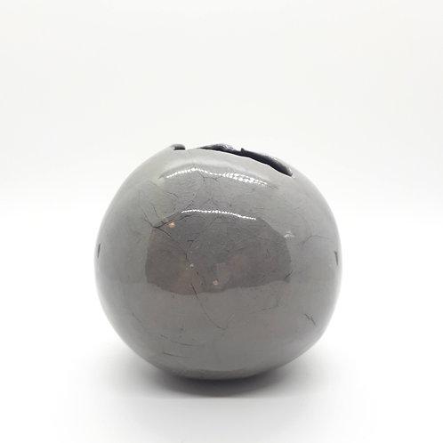 Grey Bud Vase