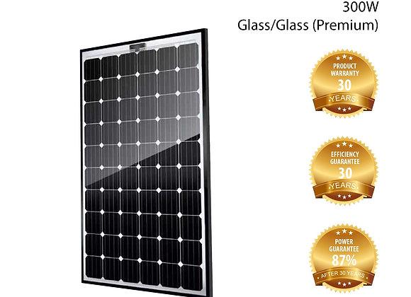 Solcell Solitek - SolidFramed GlasGlas 300W - Mono 60-cell