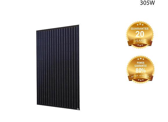 Solcell Solitek - Standard 305W – Mono, black