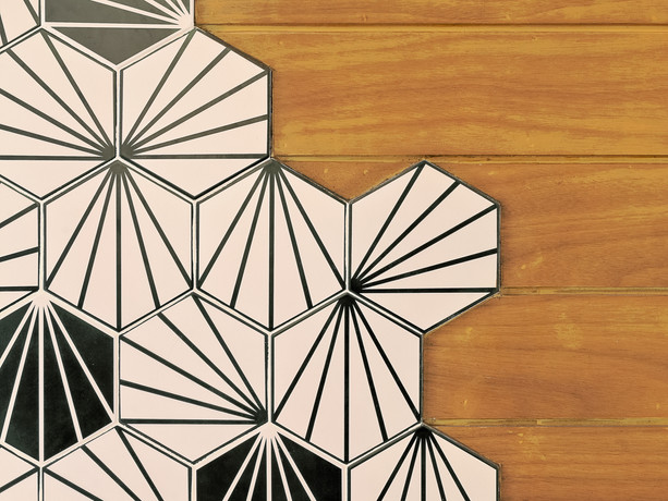 HEXAGON TILE DESIGN
