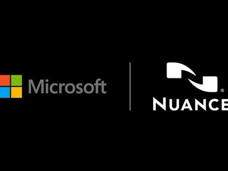 Microsoft kupuje AI firmu Nuance za 19,7 mld. USD