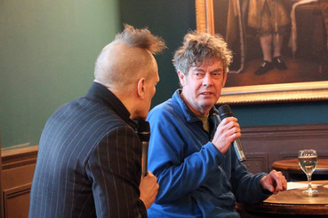 Martin Elbourne in conversation in Hastings