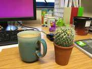 My desk during PhD