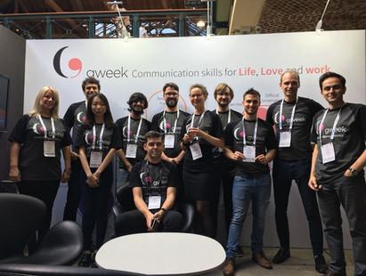 Gweek team at CogX 2018
