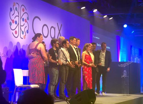 CogX 2018 award for best innovation in NLP