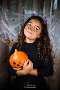 Retrato de Halloween