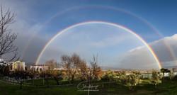 Arco Íris sobre a Covilhã