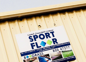 The launch of Sport Floor Middle East Website.