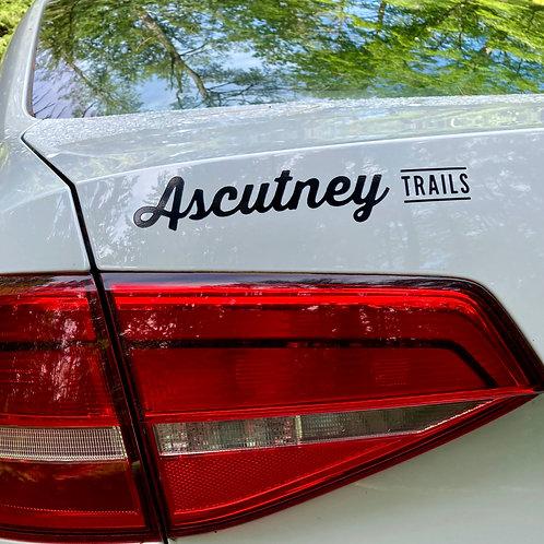 "Ascutney Trails Stickers - 8"""