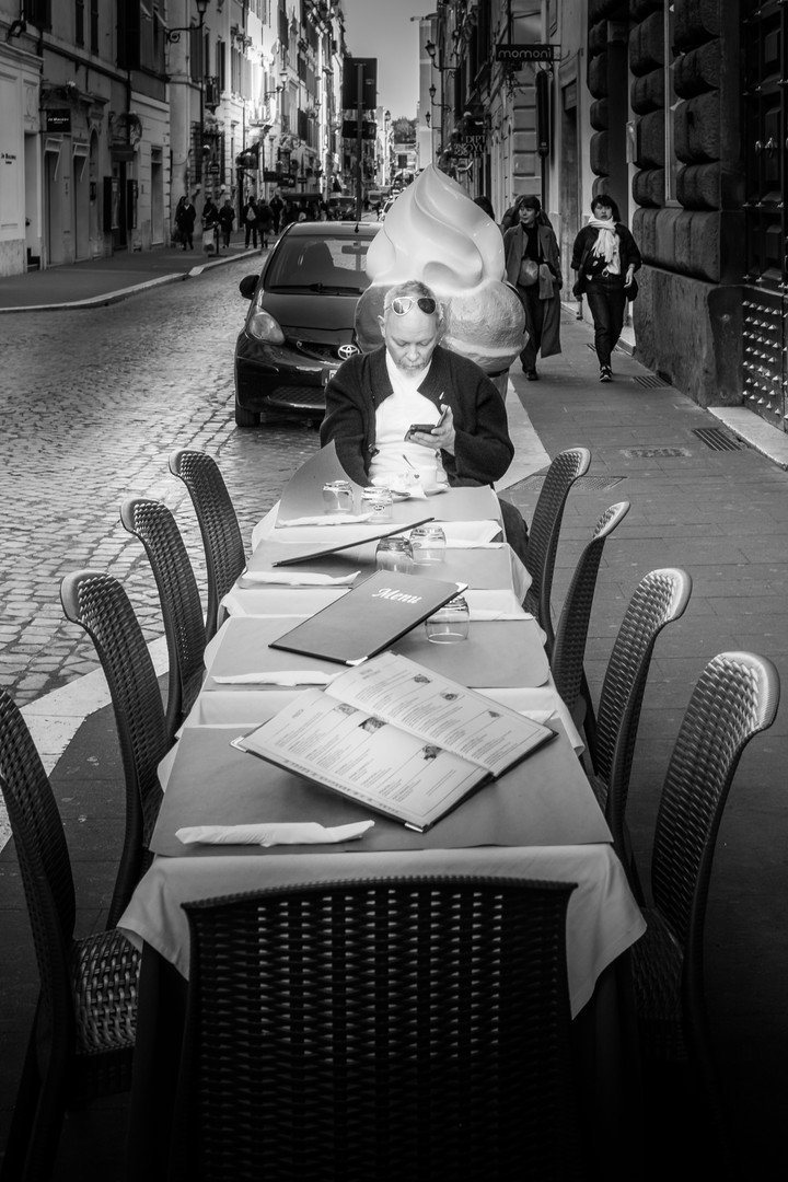 Street Photography in Rome