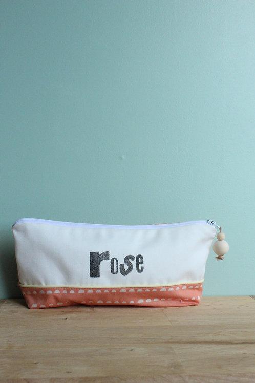Trousse à crayons Rose