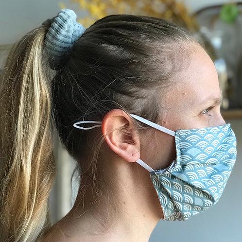 Masque en tissu artisanal - taille adulte et taille enfant