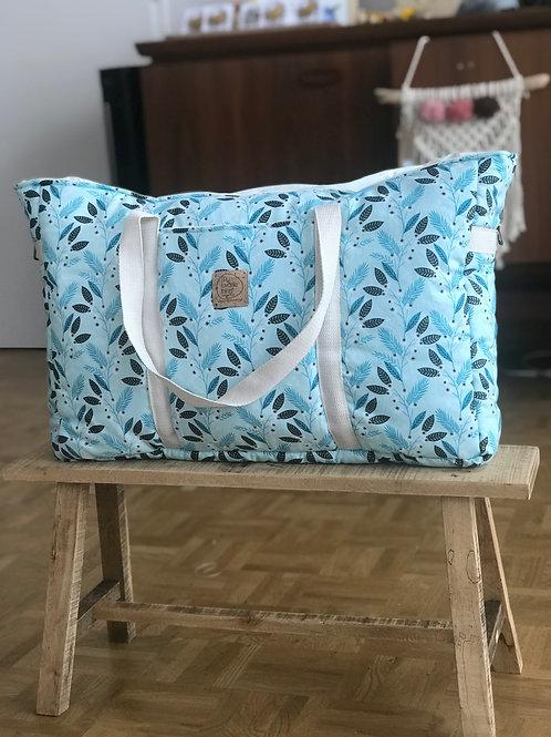 Grand sac cabas - sac à langer - fermeture ai