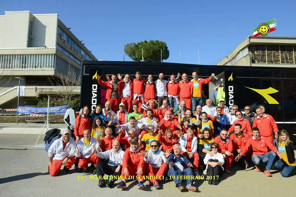 La Squadra -Mezzamaratona2017