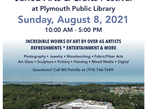 Upcoming event at Plymouth Library Art Festival