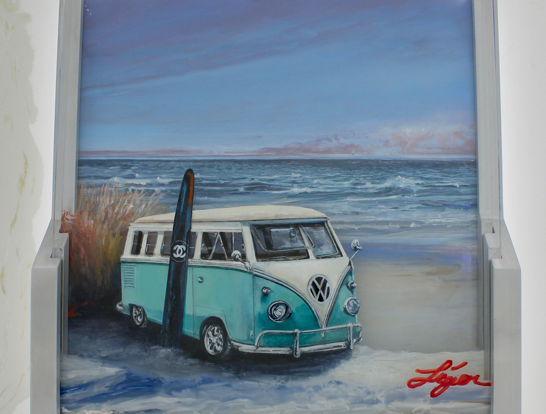 Vintage VW beach time