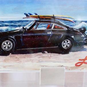 Porsche 911 on Surf Side