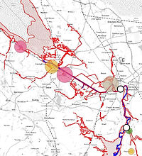 Lower Dee catchment and DCWW asset locations/capacity