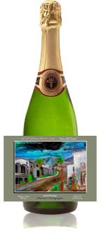 """""""New Old Town"""" Almond Champagne"""