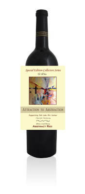 """Attraction to Abstraction"" Specialty Red"