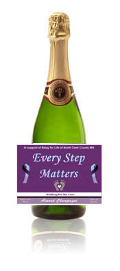 Every Step Matters - Almond Champagne
