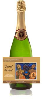 """Sacred Fusion"" Almond Champagne"