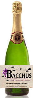 Bacchus for Charity Almond Champagne