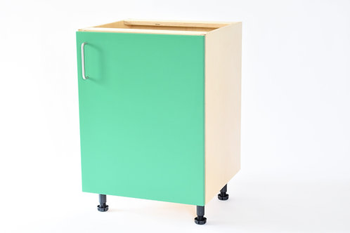Base Units: Full door cupboard with 1 x internal shelf